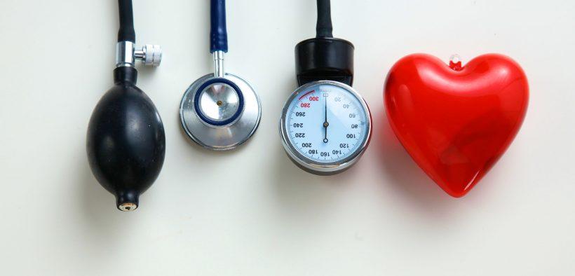 stetoskop, i ciśnieniomierz